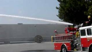 Stang Fire Truck Mounted Monitor (Water Cannon). Burbank Fire Truck. Fire Fighting Equipment