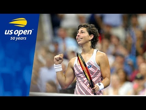 2018 US Open Top 5: Carla Suárez Navarro