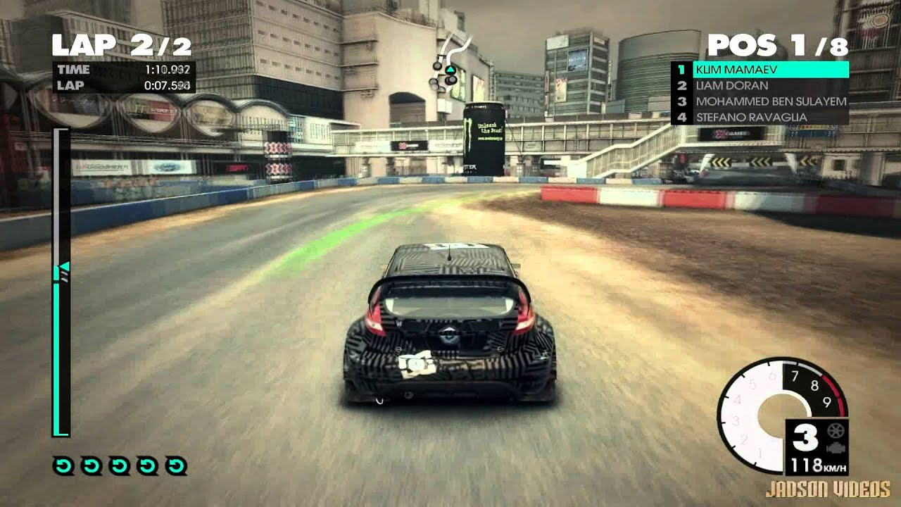 dirt 3 complete edition shibuya gameplay 2 on gtx 465. Black Bedroom Furniture Sets. Home Design Ideas