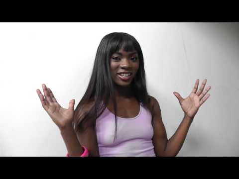 Ebony beauty Ana Foxx