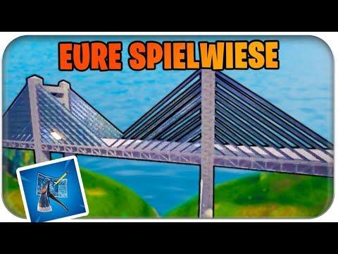 GOLDEN GATE BRIDGE IN FORTNITE - Spielwiese Community | Fortnite Playground Mode Deutsch German
