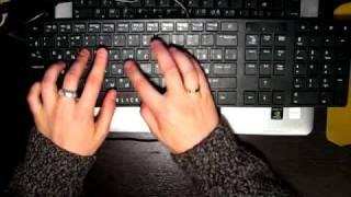 Oklick 555S - клавиатура в работе