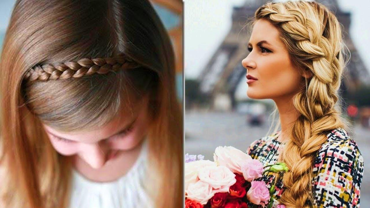 Hermosas trenzas para lucr bella youtube - Peinados de trenzas modernas ...