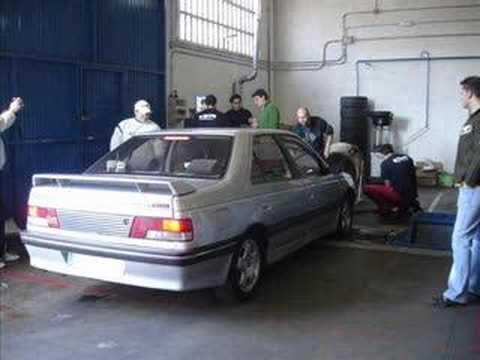 peugeot 405 mi16 evolution dyno test youtube. Black Bedroom Furniture Sets. Home Design Ideas