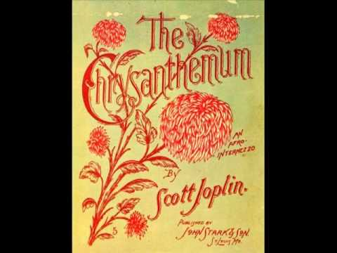 SCOTT JOPLIN (The Chrysanthemum, 1904) Ragtime Piano Roll Legend