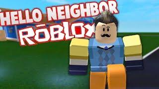 MORE HELLO NEIGHBOR LEVELS IN ROBLOX | Hello Neighbor Roblox Gameplay (Hello Neighbour Secrets)