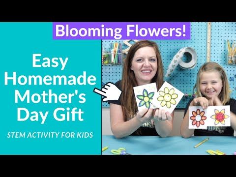 Last Minute Mother's Day Gifts homemade STEM activities for kids