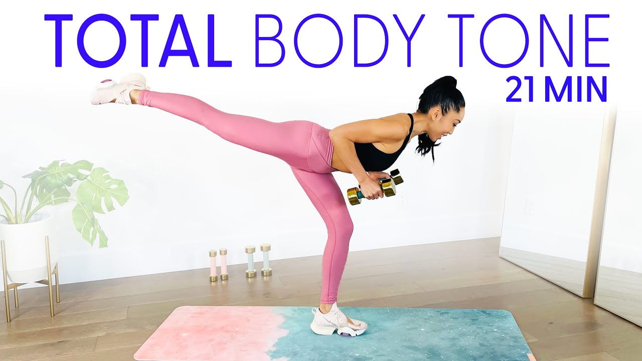 Download 21 Minute All in One Tone Workout - get your total body lean & sculpted