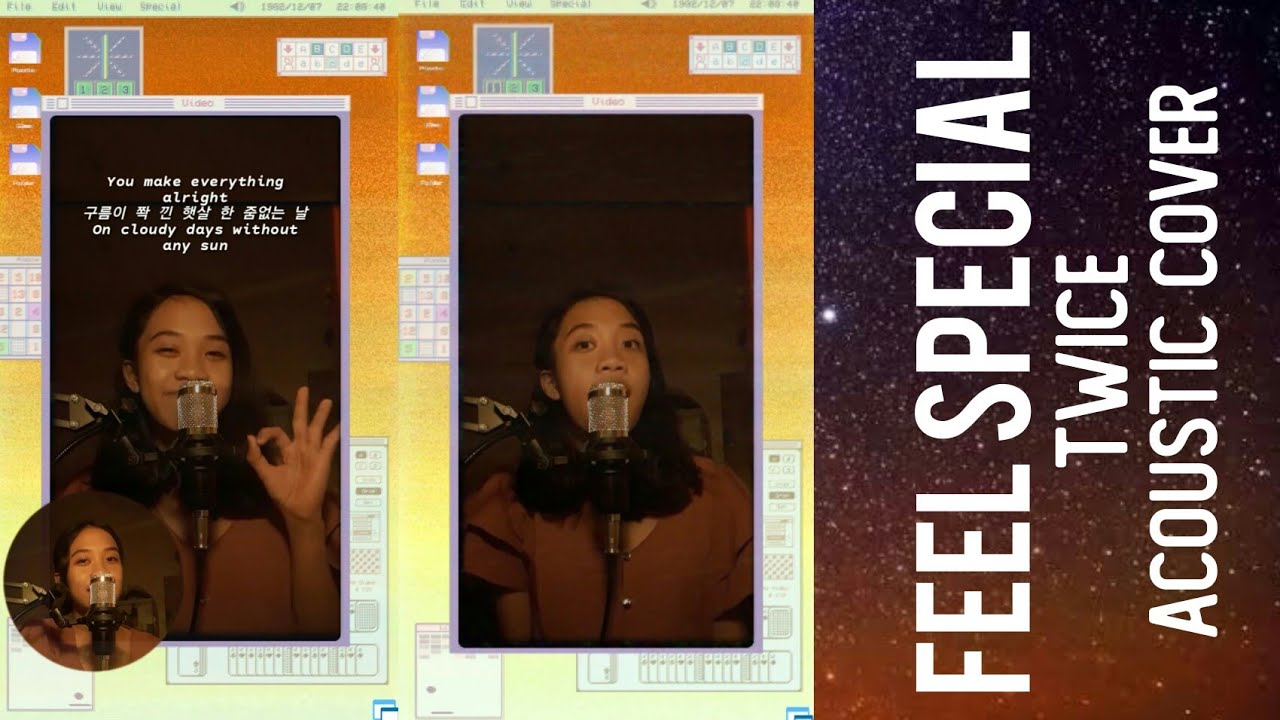 FEEL SPECIAL- TWICE [ACOUSTIC COVER]    LIYA