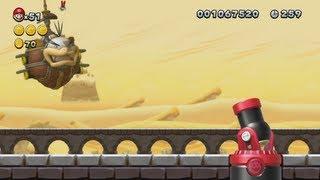 New Super Mario Bros. U - Layer-Cake Desert (Complete World 2)