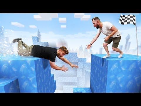 Minecraft Ice Deathrun Challenge!