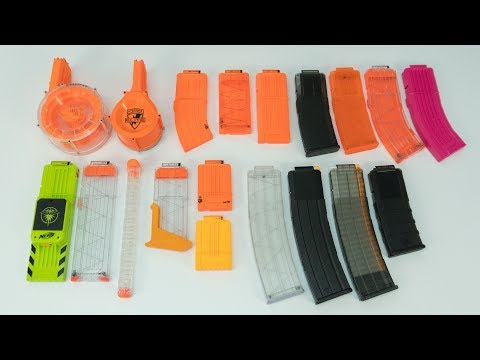 Nerf Magazine Overview | WHICH MAG IS BEST?!