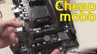 MSI A68HM-E33 V2 AMD A68H FM2 PLUS DDR3 Micro ATX Motherboard RESMI