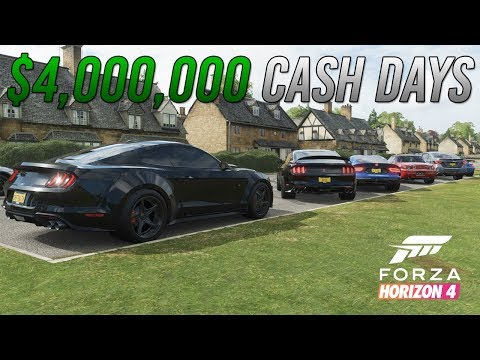 Forza Horizon 4 | $4MIL CASH DAYS - Highway Digs w/ 1000+HP GT350R, S2K, Viper, Monte, & More thumbnail