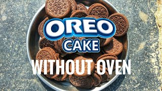 Oreo cake  | without oven at home | cake | chocolate cake | biscuit cake | simple cake recipe