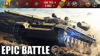 Т-100 ЛТ БОЙ КРУЧЕ ЧЕМ КИНО!!! медаль Фадина ?????? World of Tanks лучший бой