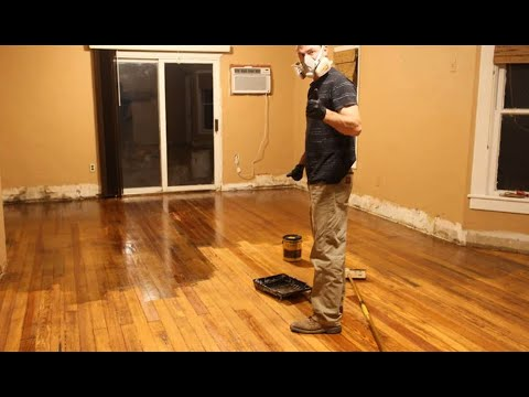 Uncovering Our 100 Yr Old Pine Floors | DIY Floor Refinishing Story