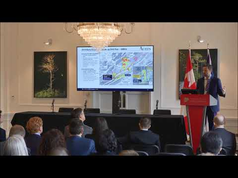 Auryn Resources investor presentation by Russell Starr at CMS 2018