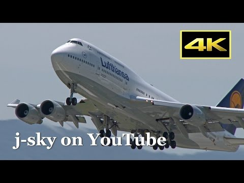 [4K] 1 Hour Plane Spotting at Kansai Airport - morning, afternoon, and night!