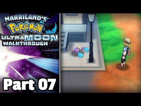 Pokémon Ultra Moon Walkthrough, Part 07: Route 2 & Berry Fields