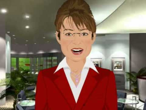 Sarah Palin Cartoon porno gros cul de l'adolescence noir