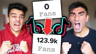 WHO CAN GAIN THE MOST TIK TOK FOLLOWERS IN 24HRS!!! ft. Derek Gerard