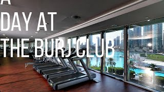 A day at The Burj Club