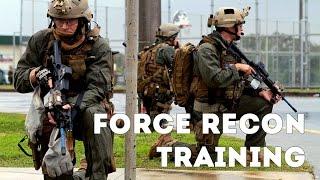 us marines force recon training usmc force recon training
