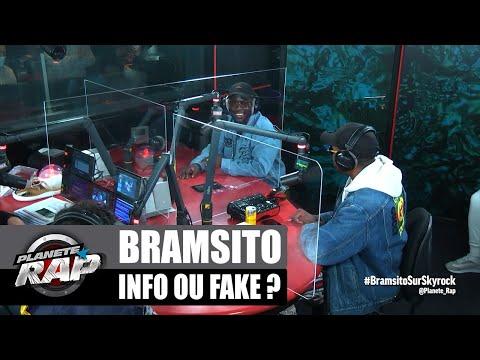 Youtube: Bramsito – Info ou Fake? avec Moha K et Dany Synthé! #PlanèteRap
