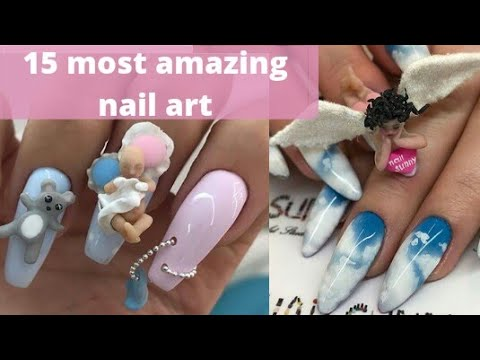 15 most amazing|unique nail designs 2018 - 15 Most Amazing|unique Nail Designs 2018 - YouTube