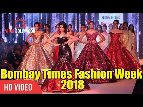Magnificent Ramp Walk  Urvashi Rautela At Bombay Times Fashion Week 2018