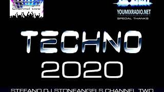 TECHNO 2020 CLUB MIX VOLUME 1  #techno #playlist #djstoneangels #clubmusic