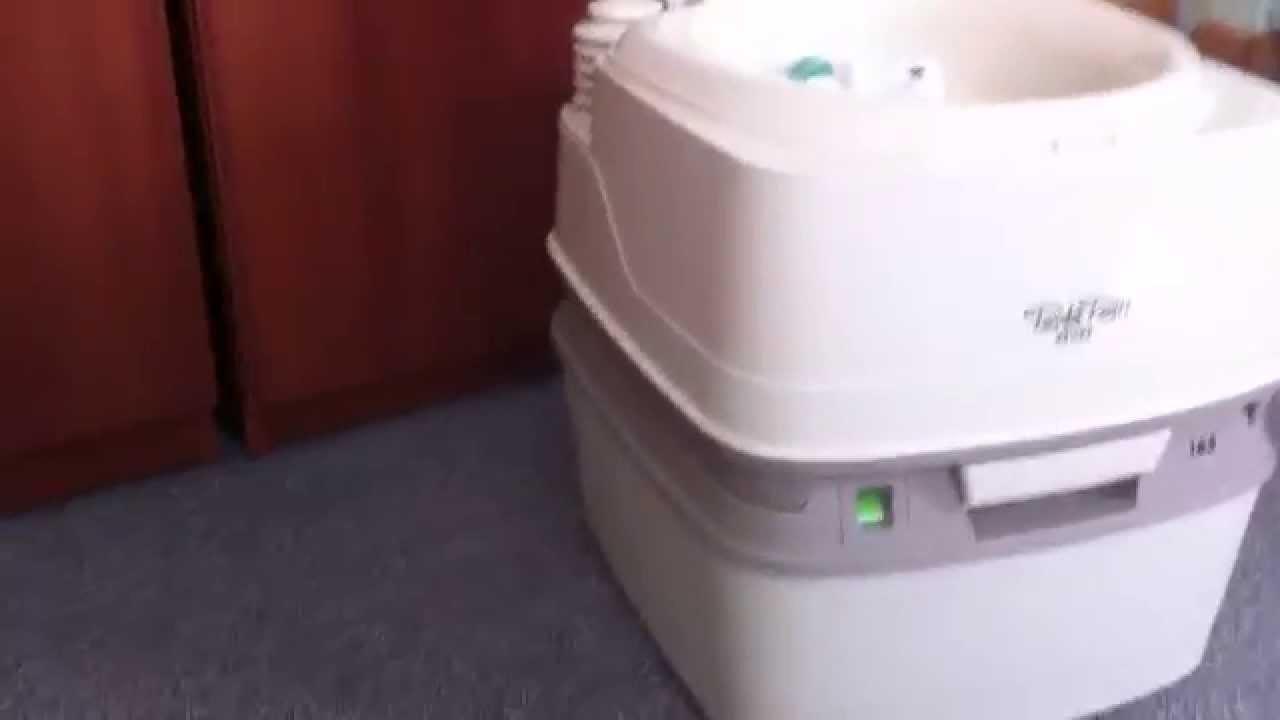campingtoilette porta potti qube neue campingtoilette. Black Bedroom Furniture Sets. Home Design Ideas