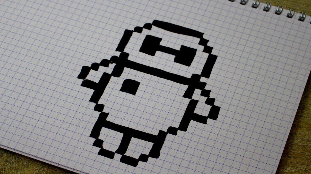 Baymax En Pixel Art