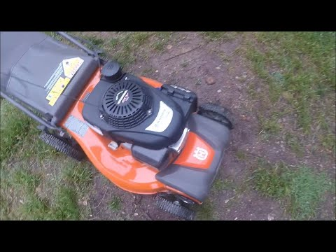 initial thoughts/ review on my husqvarna LC 221RH push mower