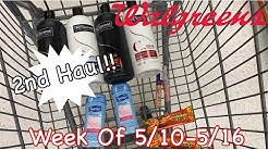 2nd Walgreens Haul | Week Of 5/10-5/16 | ALL DIGITAL | Using Point Booster | Meek's Coupon Life