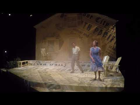 ALL MY SONS:  SET DESIGN