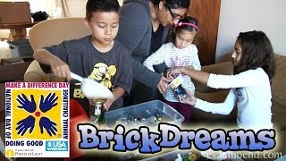 EvanTubeHD visits BRICK DREAMS - National Make a Difference Day!
