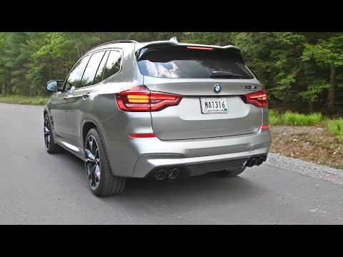 BMW X3 M Competition - Listen To The Engine And Exhaust Sound!