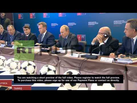 Russia: Over 664 billion rubles to go towards 2018 World Cup - Putin