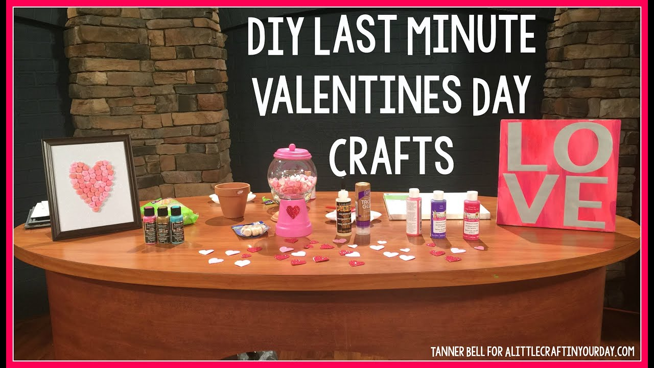 DIY Last Minute Valentines Day Crafts Teen Room Decor Kid