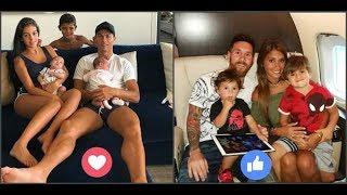 Cristiano Ronaldo's Family VS Lionel Messi's Family Full HD Hot Videos ★ 2018