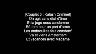Kalash Criminel Mélanger ft KeBlack LYRICS