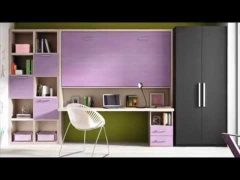 Muebles convertibles en cama horizontales para casas Muebles para casas pequenas