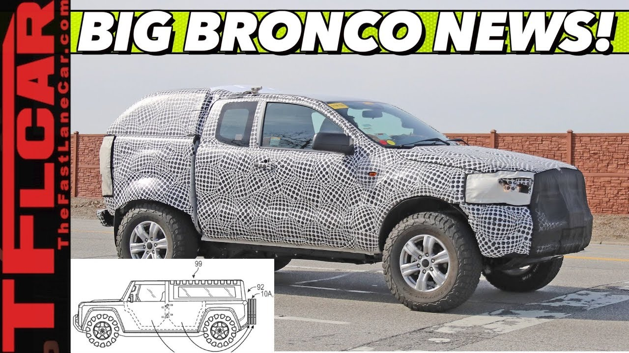 BREAKING NEWS: 2021 Ford Bronco Will Debut Soon with ...
