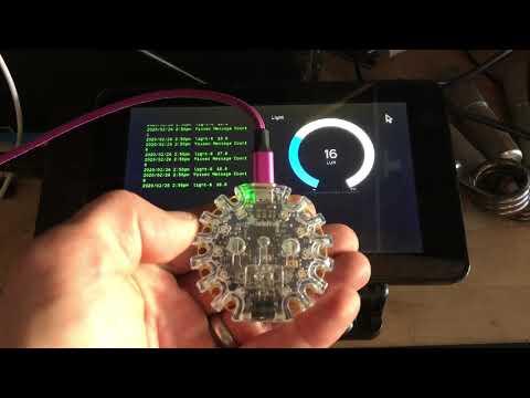 RPi Sensornet Bluetooth Bridge in CircuitPython demo @adafruit @johnedgarpark #adafruit