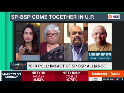 Primetime Debate: Impact of SP-BSP alliance on #Election2019 #BQ