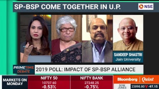Primetime Debate: Impact of SP-BSP alliance on #Election2019 #BQ