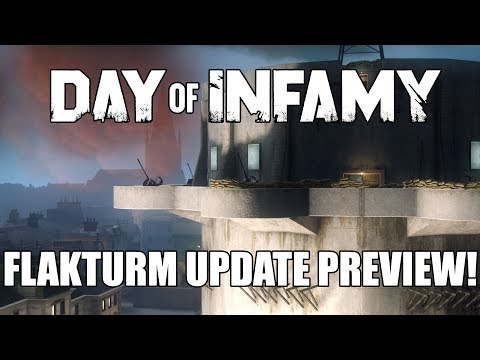 Flakturm Content Update Preview - Day of Infamy Weekly Live Stream 12/7/17
