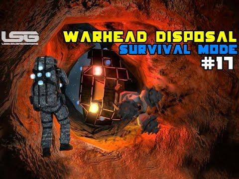 Space Engineers - Explosive, Warhead Disposal Negotiations SE2 - Part 17